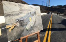 Vasquez Canyon Road Reopens After Nearly a Year