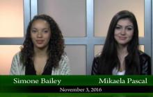 Canyon News Network for Thursday, Nov. 3, 2016