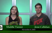 Canyon News Network for Tuesday, Nov. 8, 2016