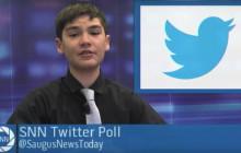 Saugus News Network, 11-8-2016: Hillary Wins Saugus High Twitter Poll