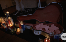 Ghost Band Art Exhibit Honors and Remembers Musicians Who Have Passed.
