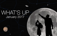 What's Up for January 2017: Meteors, Venus, Comet 45p low and Vesta