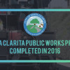 Top 10 Public Works Projects Finished in 2016