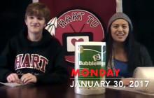 Hart TV, 01-30-17: Bubble Wrap Appreciation Day