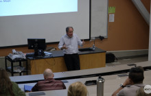 NASA JPL Associate Director Speaks to Students at College of the Canyons