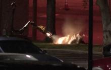 Arson Explosives Officials Deem Suspicious Device as Fake
