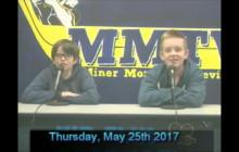 Miner Morning TV, 5-25-17