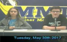 Miner Morning TV, 5-30-17
