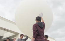 West Ranch HS Weather Balloon Meets Space