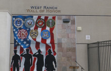 West Ranch H.S. Dedicates Wall of Honor
