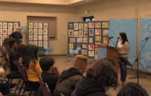 Students Share their Stories Through Poetry, Art, Music