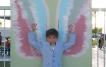 Helmers Elementary Students Debut Tribute to Famed 'Global Angels Wings' Project