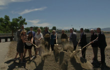 Groundbreaking Ceremony for Newhall Ranch Road Bridge Widening Project