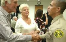Community Meets New SCV Sheriff's Captain