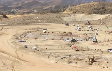 Tour of Castaic High School Construction Site