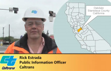 Caltrans News Flash: HAWK Pedestrian Crosswalk Signal