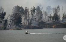 Firefighters Battle 'Lake Fire' Blaze in Castaic