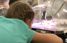 Robotics Team from Boys & Girls Club Tries Out New Surgical System at Henry Mayo