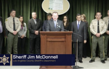 Sheriff McDonnell Announces Joint Efforts in Largest West Coast Case of Human Trafficking