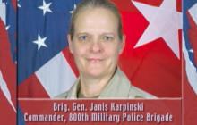 BG Janis Karpinski, 800th Military Police Brigade (Abu Ghraib), 2004
