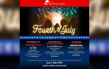 July 3, 2017: Fourth of July Festivities; Weather; more