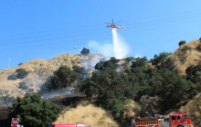 July 18, 2017: Brush Fire; Newhall Ranch; more