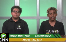 Canyon News Network, 8-29-17 | Football & SAT Prep