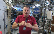 Italian Space Station Veteran Discusses Life in Space