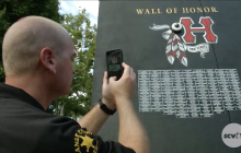 August 30, 2017: Memorial Wall; Walk of remembrance; more