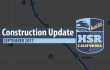 High-Speed Rail Construction Update – September 2017