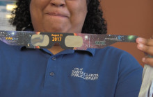 Newhall Library Gives Free Solar Eclipse Viewing Glasses