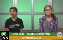 Canyon News Network, 9-7-17 | STF, Club News