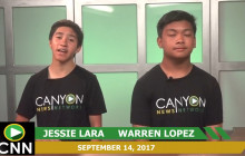 Canyon News Network, 9-14-17 | Girls Volleyball Interview