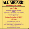 """All Aboard the """"LARC Train of Love"""" on Sept. 17"""