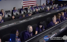 Final Moments in Cassini Mission Control