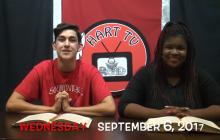Hart TV, 9-6-17 | National Read a Book Day & Teacher Interviews