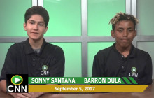 Canyon News Network, 9-5-17 | Morning Message