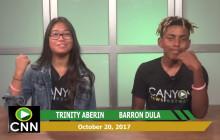 Canyon News Network, 10-20-17
