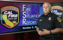 Fire Situation Report, October 2, 2017