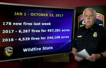Fire Situation Report, October 23, 2017