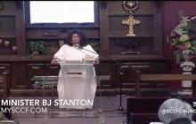 SCCF: Minister BJ Stanton