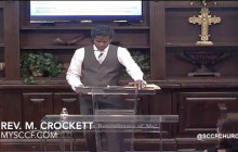 SCCF: Reverend M. Crockett