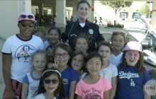 Golden Oak Community School Welcomes LAPD for 'Just Say No Campaign'