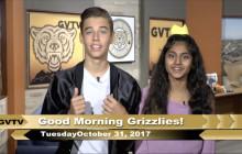 Golden Valley TV, 10-31-17 | Tuesday Trivia