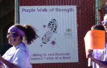 Purple Walk of Strength Raises Awareness to Domestic Violence