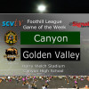 Game of the Week: Canyon vs. Golden Valley, Oct. 20, 2017