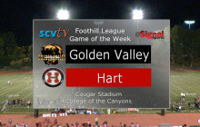 Game of the Week: Golden Valley vs. Hart, Oct. 27, 2017