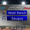 Game of the Week: West Ranch vs. Saugus, Oct. 13, 2017