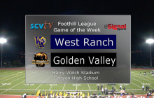 Game of the Week: West Ranch vs. Golden Valley, Nov. 3, 2017