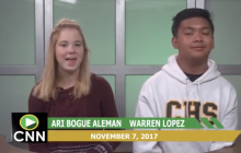 Canyon News Network, 11-7-17